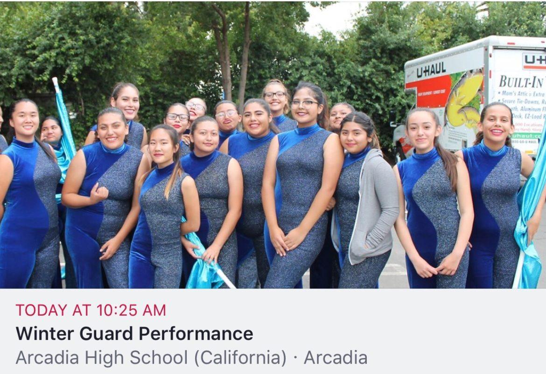 Event: WGASC – Arcadia HS