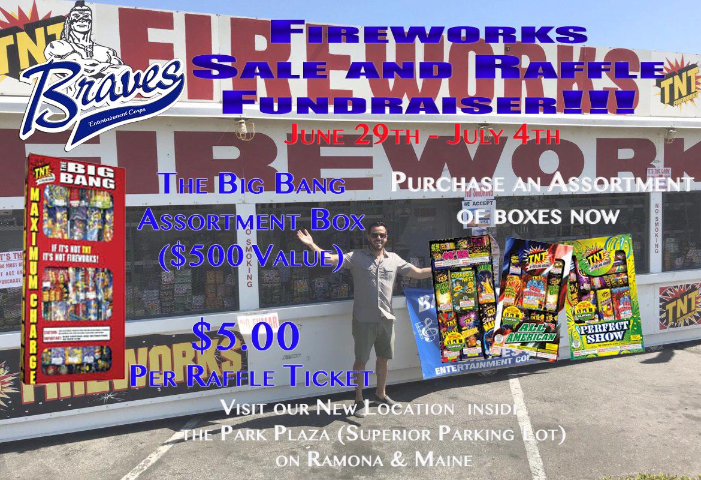 TNT Fireworks Fundraiser