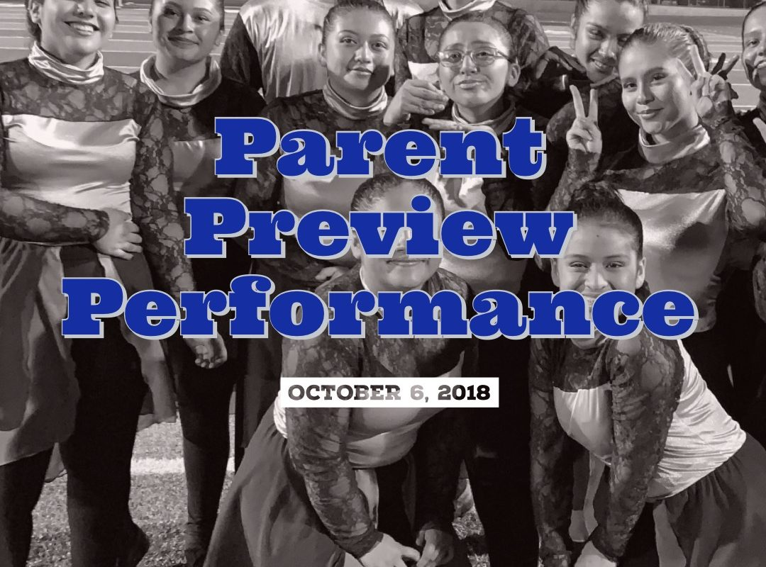 "Album: Parent Preview Performance / ""Senior Night"" 2018"