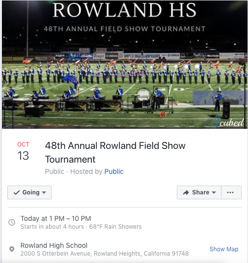 Event: South Hills Field Show 11/5
