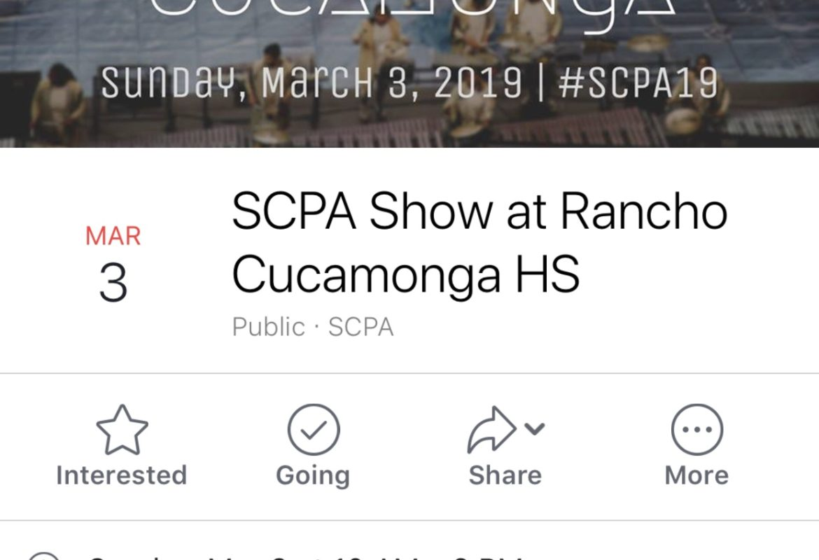 Event: SCPA – Rancho Cucamonga HS