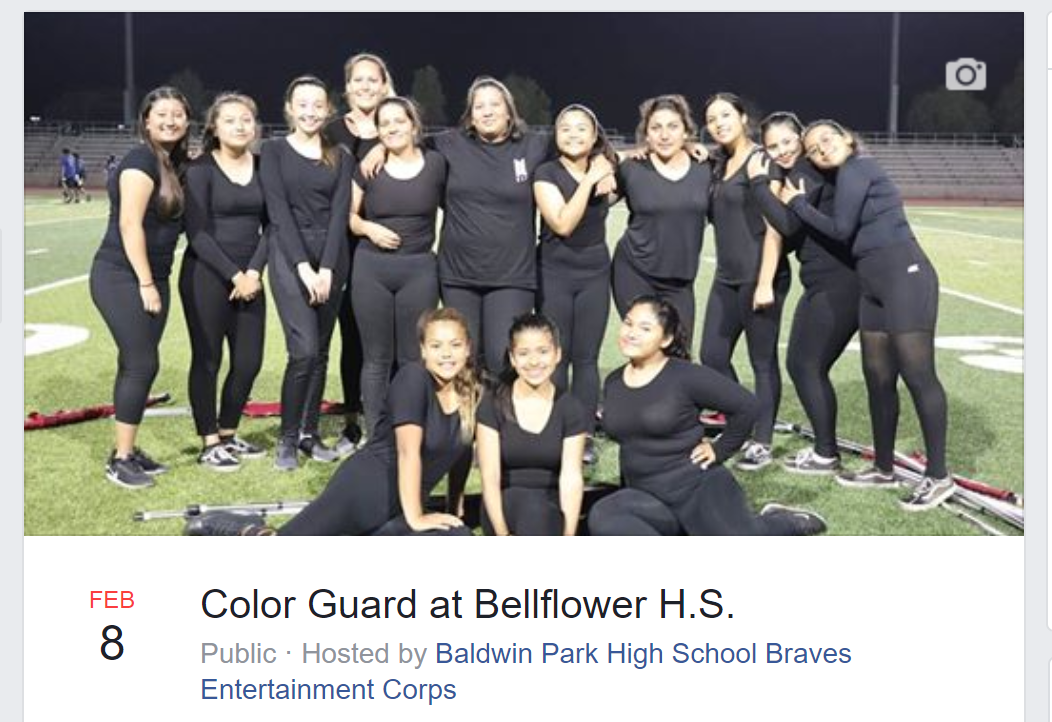 Event: WGASC – Bellflower HS 2/8
