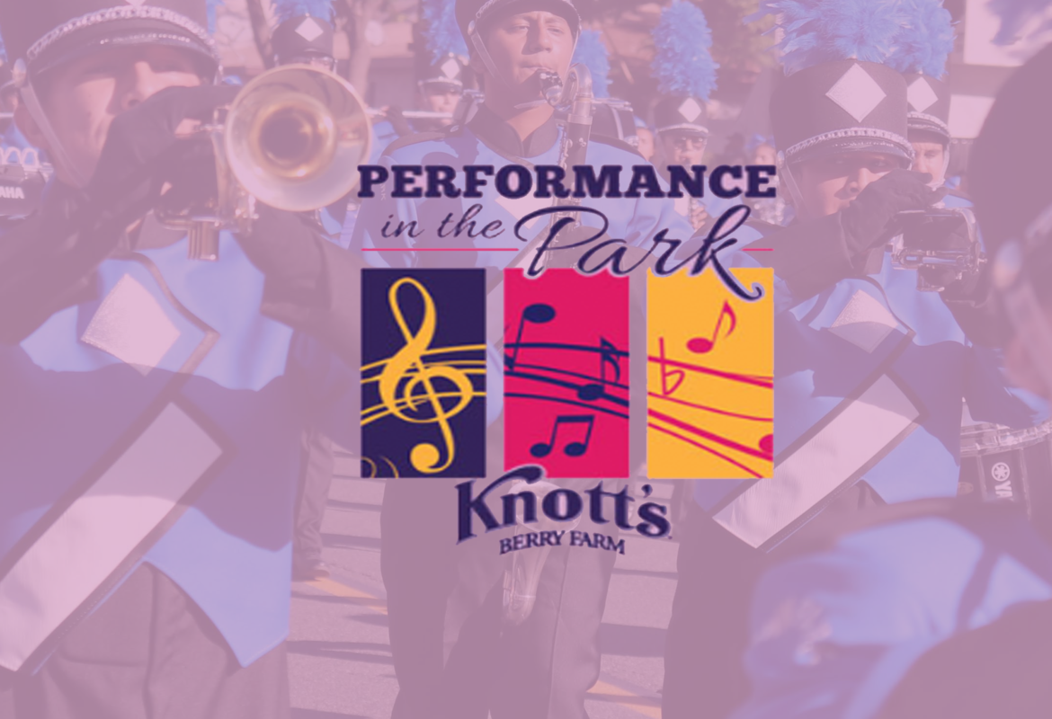 Knott's Berry Farm Performance in the Park April 10th