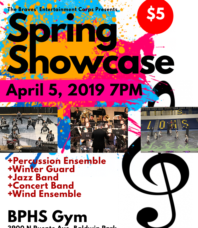 Event: Spring Showcase April 5th at 7pm