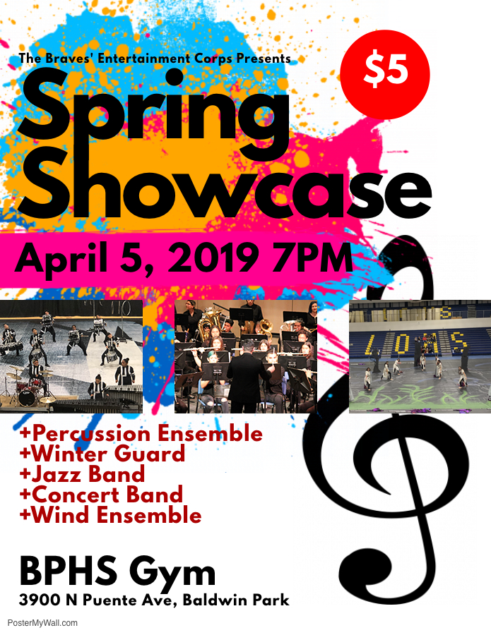 Spring Showcase Flyer