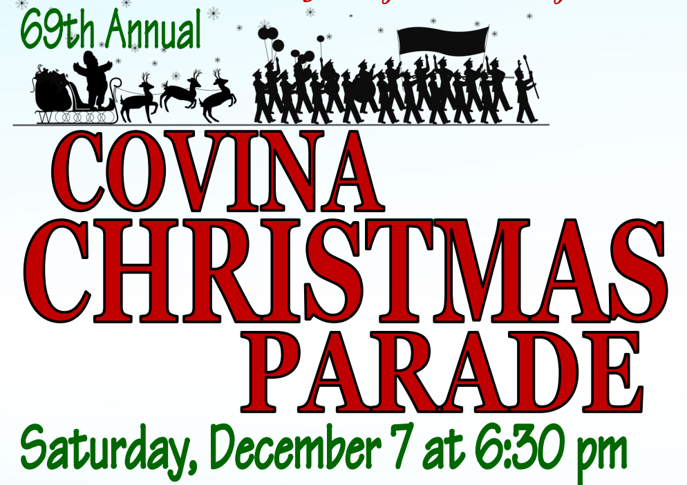Event: Covina Christmas Parade 12/7